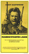 The Outlaw Josey Wales 1977 Movie poster Clint Eastwood