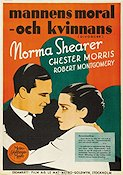 The Divorc�e 1930 Movie poster Norma Shearer