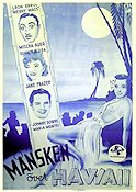 Moonlight in Hawaii 1941 poster Mischa Auer