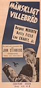 Of Mice and Men 1939 poster Burgess Meredith