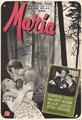 Maria 1947 Movie poster Maj-Britt Nilsson