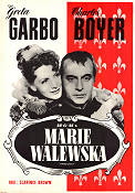Conquest 1938 Movie poster Greta Garbo Clarence Brown
