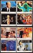 Mars Attacks 1997 lobby card set Jack Nicholson Tim Burton