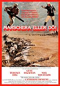 March or Die 1977 Movie poster Terence Hill Dick Richards