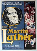 Martin Luther 1954 poster Niall MacGinnis
