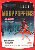 Mary Poppins 1965 poster Julie Andrews