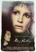 Mary Reilly 1996 Movie poster John Malkovich Stephen Frears
