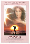 Mask 1984 Movie poster Cher Peter Bogdanovich