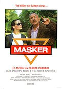 Masques 1987 Movie poster Philippe Noiret Claude Chabrol