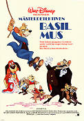 Basil the Great Mouse Detective 1986 Movie poster