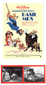 Basil the Great Mouse Detective 1986 poster