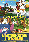M�sterkatten i st�vlar 1973 Movie poster