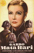 Mata Hari 1931 Movie poster Greta Garbo