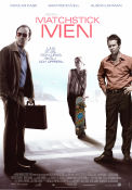 Matchstick Men 2003 Movie poster Nicolas Cage
