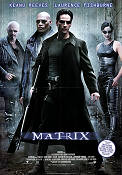 The Matrix 1998 Movie poster Keanu Reeves Andy Wachowski