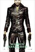 The Matrix Reloaded 2003 poster Nona Gaye