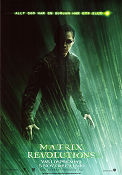 The Matrix Revolutions 2003 poster Keanu Reeves