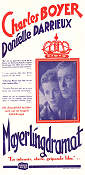 Le secret de Mayerling 1949 poster Charles Boyer