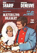 Mayerling 1968 Movie poster Omar Sharif Terence Young