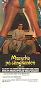 Mazurka p� s�ngkanten 1970 Movie poster Ole S�ltoft