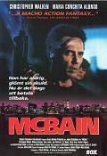 McBain 1991 Movie poster Christopher Walken