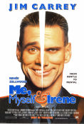Me Myself and Irene 2000 Movie poster Jim Carrey