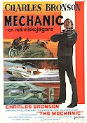 The Mechanic 1973 Movie poster Charles Bronson