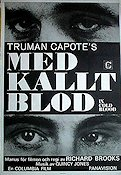 In Cold Blood 1968 poster Robert Blake