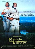 Medicine Man 1991 poster Sean Connery