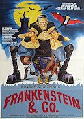Meet Frankenstein 1948 Movie poster Abbott and Costello
