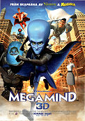 Megamind 2010 poster Tom McGrath