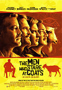 The Men Who Stare at Goats 2009 Movie poster Ewan McGregor