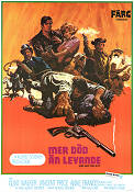 More Dead Than Alive 1969 Movie poster Clint Walker Robert Sparr