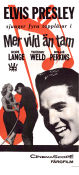 Wild in the Country 1961 poster Elvis Presley Philip Dunne