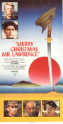 Merry Christmas Mr Lawrence 1984 Movie poster David Bowie
