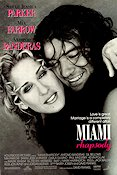 Miami Rhapsody 1995 Movie poster Sarah Jessica Parker