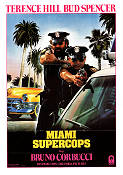 Miami Supercops 1985 Movie poster Terence Hill Bruno Corbucci