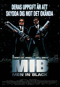 MIB Men in Black 1997 poster Tommy Lee Jones Barry Sonnenfeld