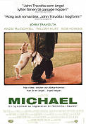 Michael 1996 Movie poster John Travolta Nora Ephron