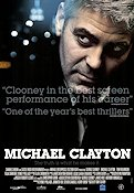 Michael Clayton 2007 Movie poster George Clooney Tony Gilroy
