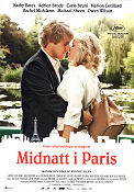 Midnight in Paris 2011 poster Owen Wilson Woody Allen