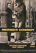 Midnight Cowboy 1969 Movie poster Dustin Hoffman John Schlesinger