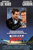 Midnight Run 1988 Movie poster Robert De Niro