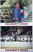 The Mighty Ducks 1994 lobby card set Emilio Estevez