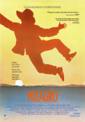 The Milagro Beanfield War 1987 Movie poster Ruben Blades