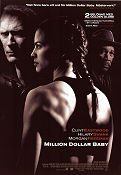 Million Dollar Baby 2004 Movie poster Clint Eastwood