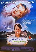 My Stepmother is an Alien 1988 Movie poster Dan Aykroyd