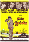 My Geisha 1962 Movie poster Shirley MacLaine