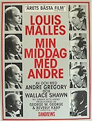 Min middag med Andre 1981 Movie poster Andre Gregory Louis Malle
