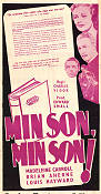 My Son My Son 1949 poster Madeleine Carroll Charles Vidor